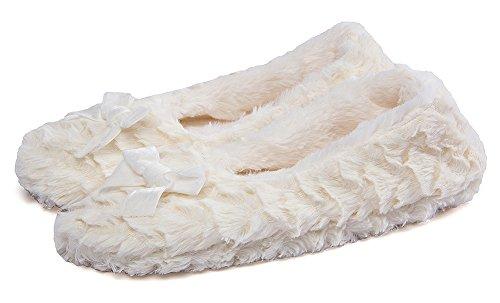 pour Flou 8 Maison Agréable MaaMgic Pantoufle Légers Dérapant Noël Souple Bureau Forme Lapin Femme d'hiver Interieur Mignon Chaussons Anti wZ4XHq