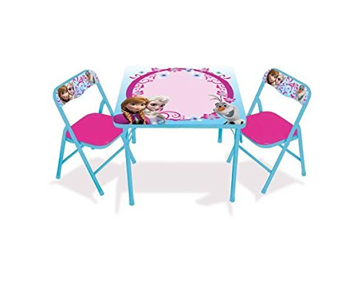 Disney Frozen Erasable Activity Table Set with 3 Markers - A