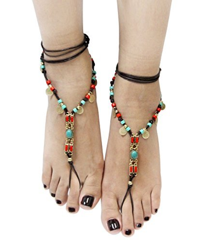 Bohemian Style Barefoot Sandals (Option 1)