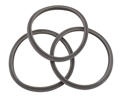 Nutribullet Blender Gasket (Pack of 3) | Three Premium Boder Rubber Replacement Gaskets for Pro 900 Watt or 600 Blenders ()