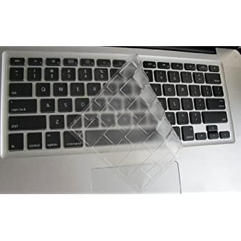 Folox Thin Transparent Waterproof TPU Keyboard Protector Cover for HP EliteBook 840 G3, 840 G4, 475 G3, 848 G4 Notebook PC