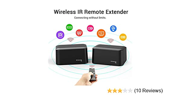 IR Repeater Extender System Wireless Transmits upto 600 Ft Very Compact