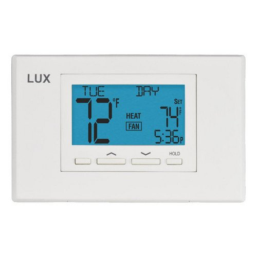 LuxPro Programmable Thermostat 7 Day Programming (2 Heat
