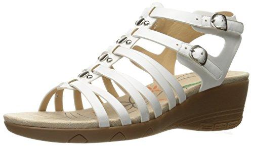 Sandalo Con Zeppa Bianca Da Donna Da Baretraps