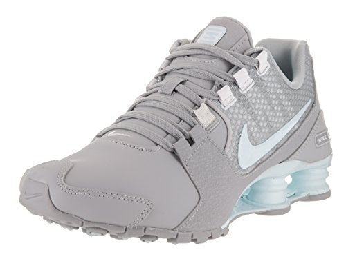 Nike Shox Avenue SE Womens Running Shoes (6 B(M) US, Wolf Grey/Glacier Blue-White) (Nike Women Shox Shoes)