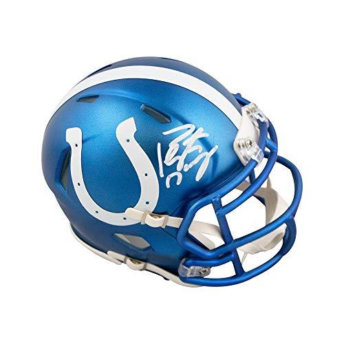 - Peyton Manning Autographed Indianapolis Colts Blaze Mini Football Helmet Fanatics