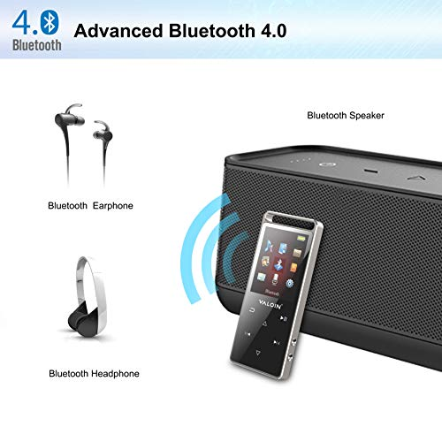 Valoin Bluetooth 4.0 MP3 Player