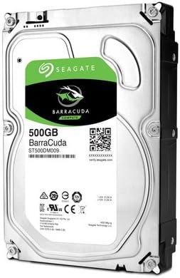 Seagate Barracuda - Disco Duro Interno de 500 GB (7200 RPM, sata3 ...
