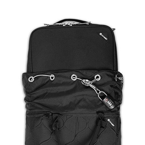 Pacsafe Travelsafe X25 Anti-Theft Portable Safe, Black by Pacsafe (Image #11)