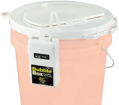 Marine Metal 5Gal Lid  with Bubble Box Aerator Lb-11