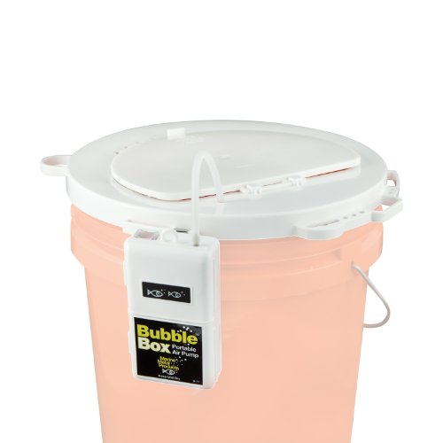 Marine Metal 5Gal Lid  with Bubble Box Aerator (Martin Archery Tab)