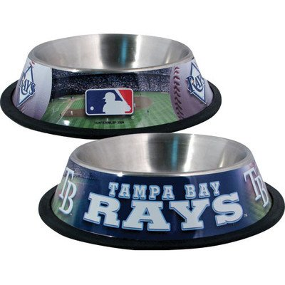 (DoggieNation MLB Dog Bowl MLB Team: Tampa Bay Rays)