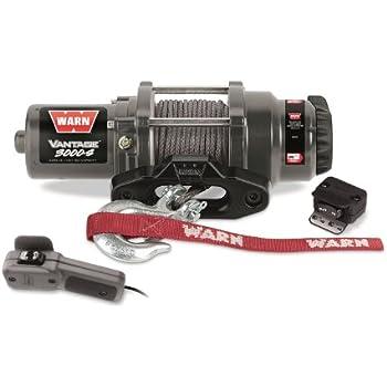 Warn 89031 Vantage 3000-S Winch - 3000 lb. Capacity