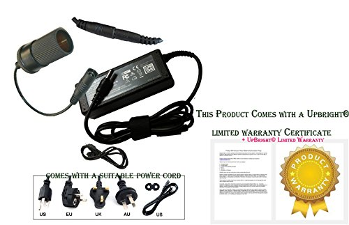 Price comparison product image UpBright NEW AC / DC Adapter For Campbell Hausfeld RP3200 Compact Travel 12 Volt Tire Inflator Flashlight 300 PSI 2069 kPa 20, 69bar In Door at Home Outlet Plug Use Power Supply Charger