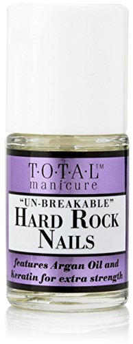 Total Manicure Un-Breakable Hard Rock Nails. Nail strengthening oil with Keratin and Argan Oil. 0.48 fl oz. -