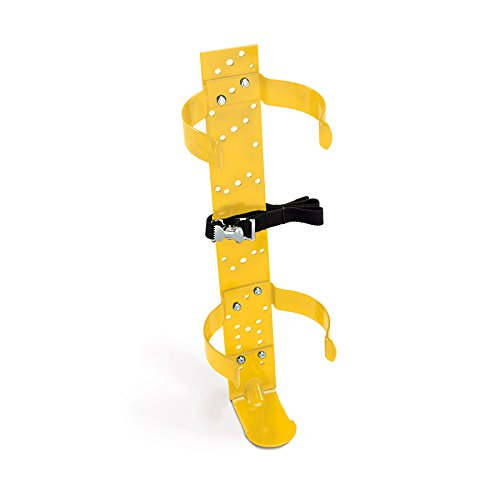 Allegro Industries 4111‐05 SCBA Deluxe Bracket, 5 1/4 Clip, 4'' x 20.5'' x 4.12'', Yellow