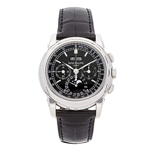 Patek Philippe Grand Complications Mechanical (Hand-Winding) Black Dial Mens Watch 5970P-001 (Certified Pre-Owned) ()