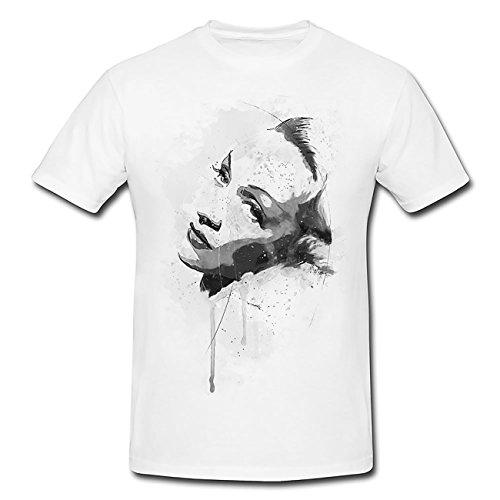 Marlene Dietrich T-Shirt Herren, Men mit stylischen Motiv von Paul Sinus