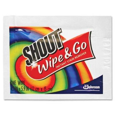 Wipe & Go quitamanchas instantáneo, 6 x 6, 80 paquetes/caja