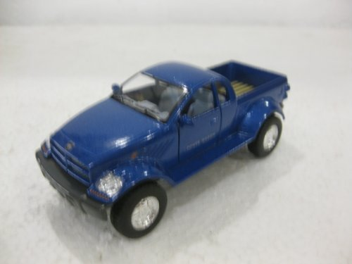 Dodge Power Wagon In Blue Diecast 1:42 Scale By Kinsmart -