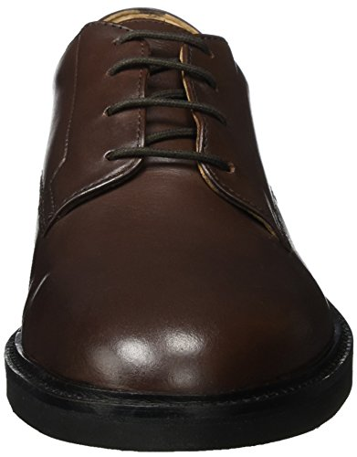 Uomo Marrone Ives Hudson London Brown Oxfords wq48zvZ