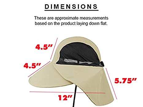 bd31be4403f Enimay Large Juniper Fishing Style Bucket Hat Neck Flap Side Mesh Panels  Olive One Size at Amazon Men s Clothing store