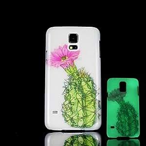 Teléfono Móvil Samsung - Cobertor Posterior - Gráfico/Diseño Especial/Resplandor en la Oscuridad - para Samsung S5 i9600 Plástico )
