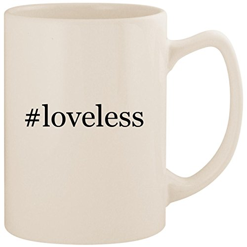 #loveless - White Hashtag 14oz Ceramic Statesman Coffee Mug ()