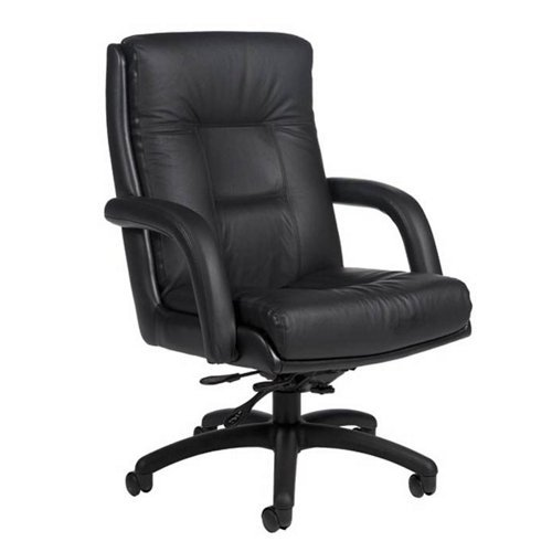 Global Arturo High-Back Leather Tilter Chair, 43