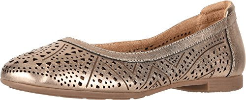 Earth Womens Royale Champagne Ballet Flat - -