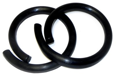 - (C-8-1) Inline Tube Rear Coil Spring Insulators Compatible with 1964-66 GM A-Body Chevelle, GTO, 442 and Skylark