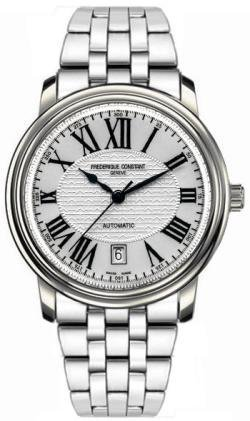 Frederique Constant Classics Silver Dial Stainless Steel Men's Watch FC303M4P6B2