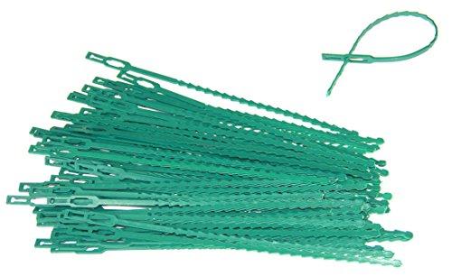 Adjustable Plant Green Flexible Plastic