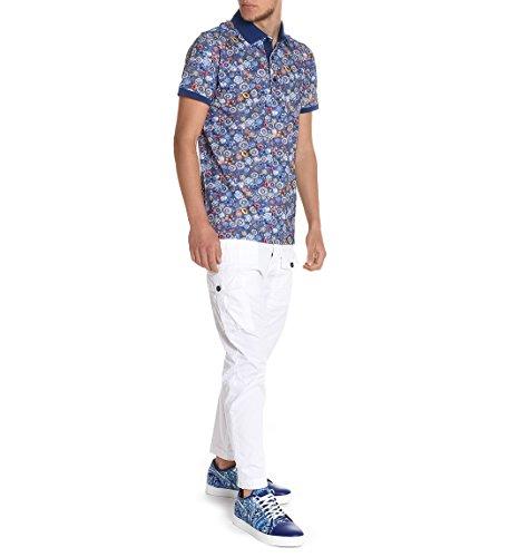 Paul & Shark Herren E17p1629sf105 Blau Baumwolle Poloshirt