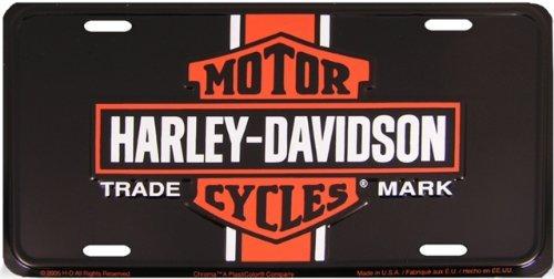 Harley Davidson Vintage Logo License Plate - #1941 by - Logo Frame Vintage