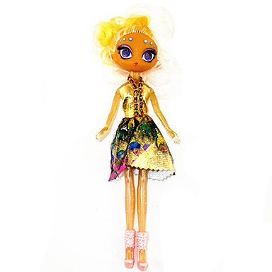 LLSai- Barbie Doll With Yellow Complexion
