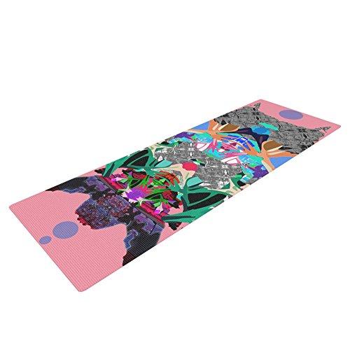 Kess eigene Danii pollehn Rorschach Japanisch, Yoga Matte, Multicolor, 72 x 24