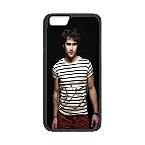 Amazing iphone 6 Case Cover darren criss4 Pattern Tough iphone 6 Hard Back Protector mlb nfl nhl High Quality PC Case Carolina Panthers nd01707 for iPhone 6 Case