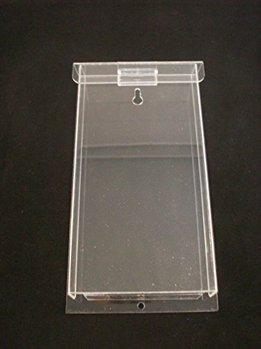 Outdoor Brochure Holder Tri-Fold Flyer Box Real Estate Clear Acrylic AZM Display (Outdoor Brochure Display)