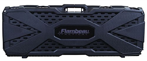 Flambeau 6500ARP Outdoors Tactical AR Rifle Case, (Black, (Ar Magazine)