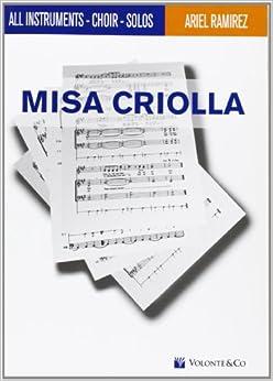 MISA CRIOLLA (Musica-Repertorio)