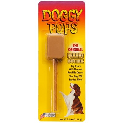 PEANUT BUTTER DOGGY POPS - 12 PACK OF SINGLES Doggy Pops Peanut Butter