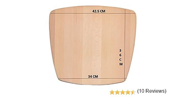 Estructura para fondo de asiento de silla, de madera maciza para ...