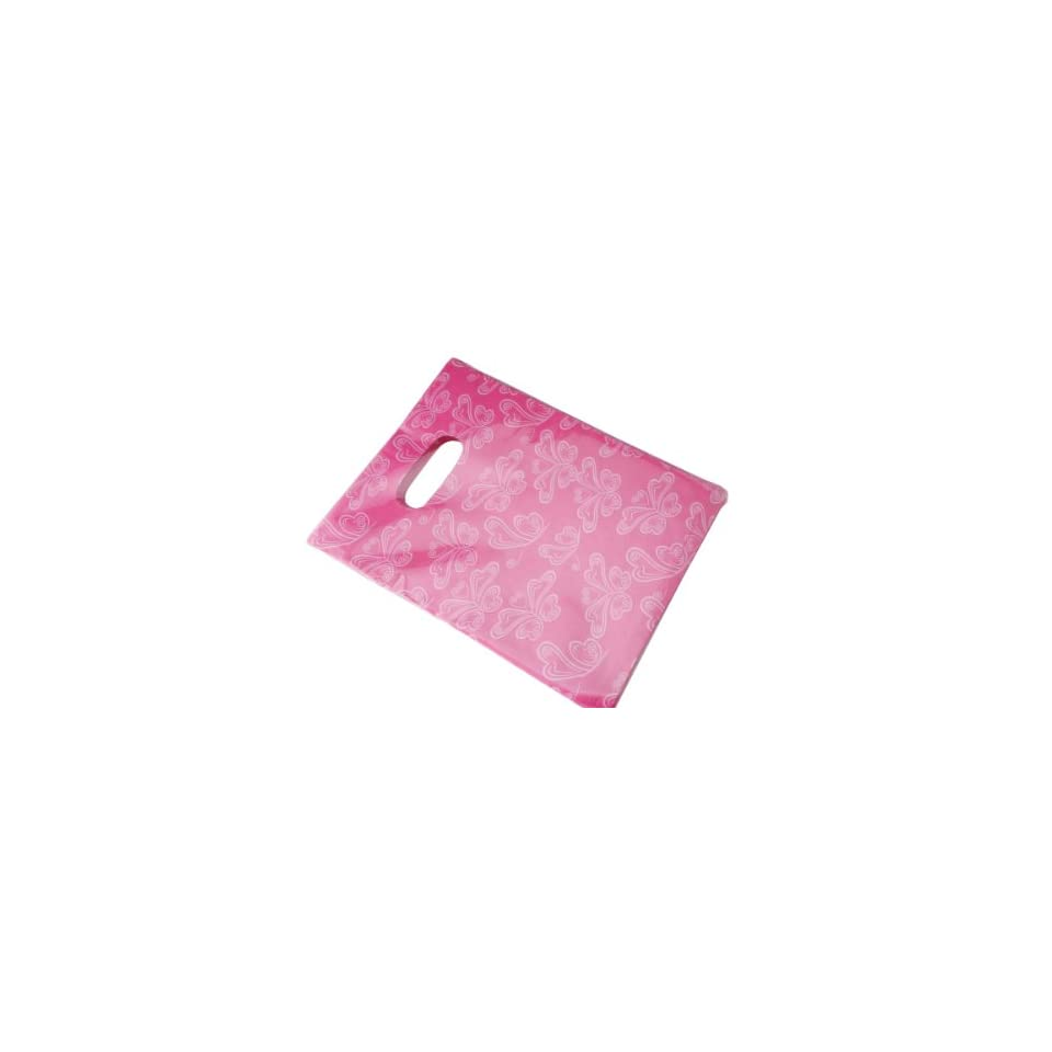 Wholesale Lot of 90 Pink Butterfly Retail Shopping Plastic Bags (5.12in x 6.69in (13x17cm))