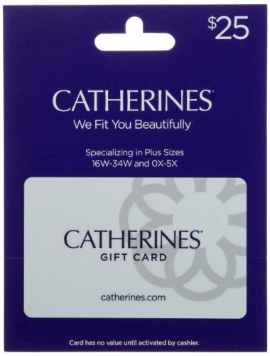 Catherines Gift Card $25 from Catherines
