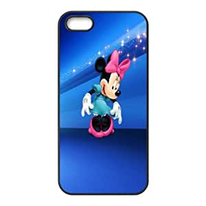Micky Mouse iPhone 5 5s Cell Phone Case Black Phone cover W9313120