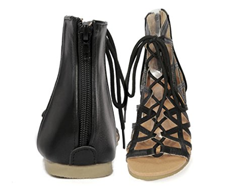 Señoras Ocio Calzado 34 Playa 1cm Cómodo Goma Pu 39 Toe Parte Puño Dew De Turismo Sandalias Compras Xie Las qaUnWBqIt