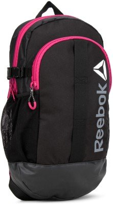 Image Unavailable. Image not available for. Colour  Reebok Delta Pink Black  Backpack