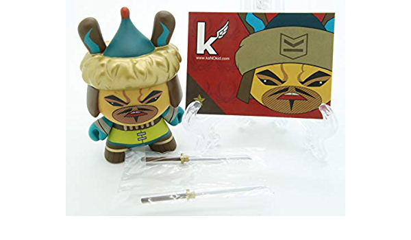 "SINGLE BOX Kidrobot Art of War Dunny 3/"" Vinyl Figure Blind Box FREE SHIPPING"
