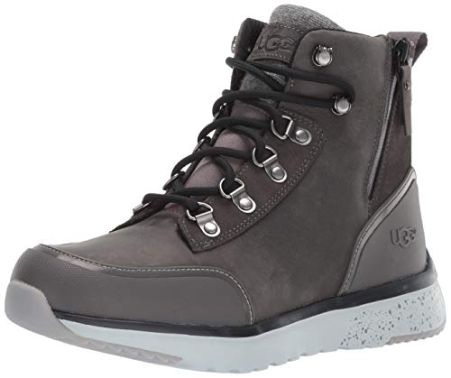 UGG Men's CAULDER Boot Snow, Dark Grey, 8.5 Medium US